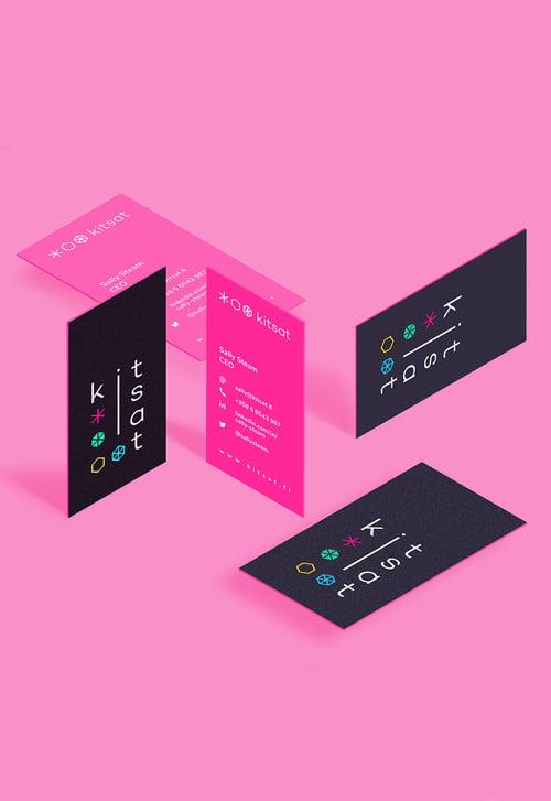 kitsat-visitcards
